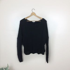 [Helmut Lang] Black Knit Sweater